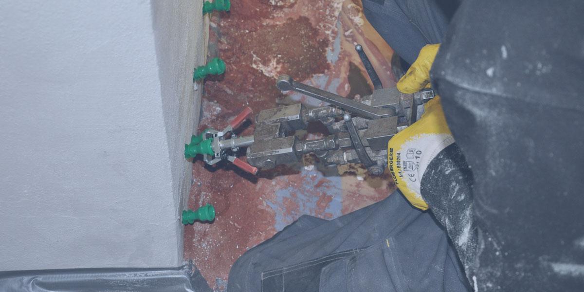 Hausan Bau GmbH Mauertrockenlegung