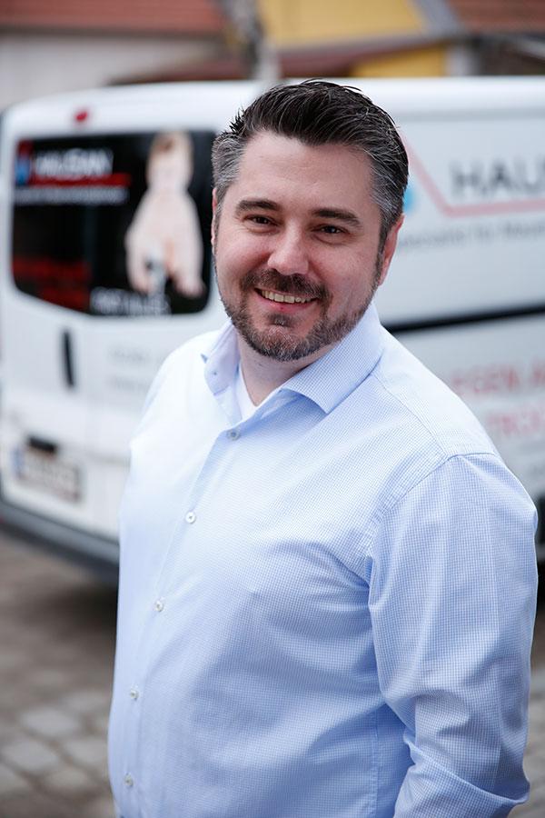 Ronald Steininger - Geschäftsführung Hausan Bau GmbH